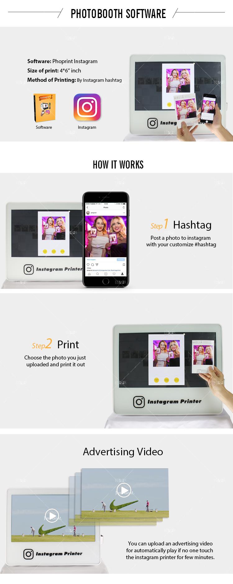 Portable Wedding Photo Booth Instagram Printer Selfie Phtotobooth 03
