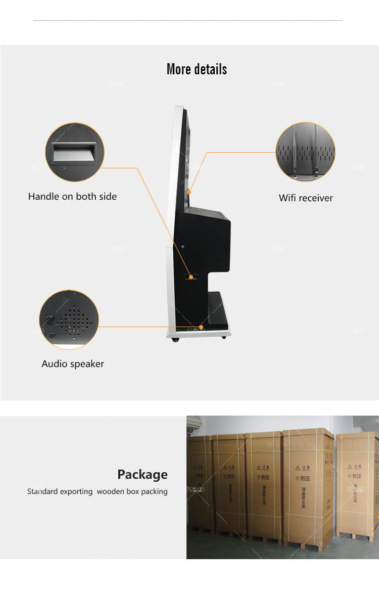Photo Printing Machine Digital Signage Kiosk Printer Station Video Advertising Player 05