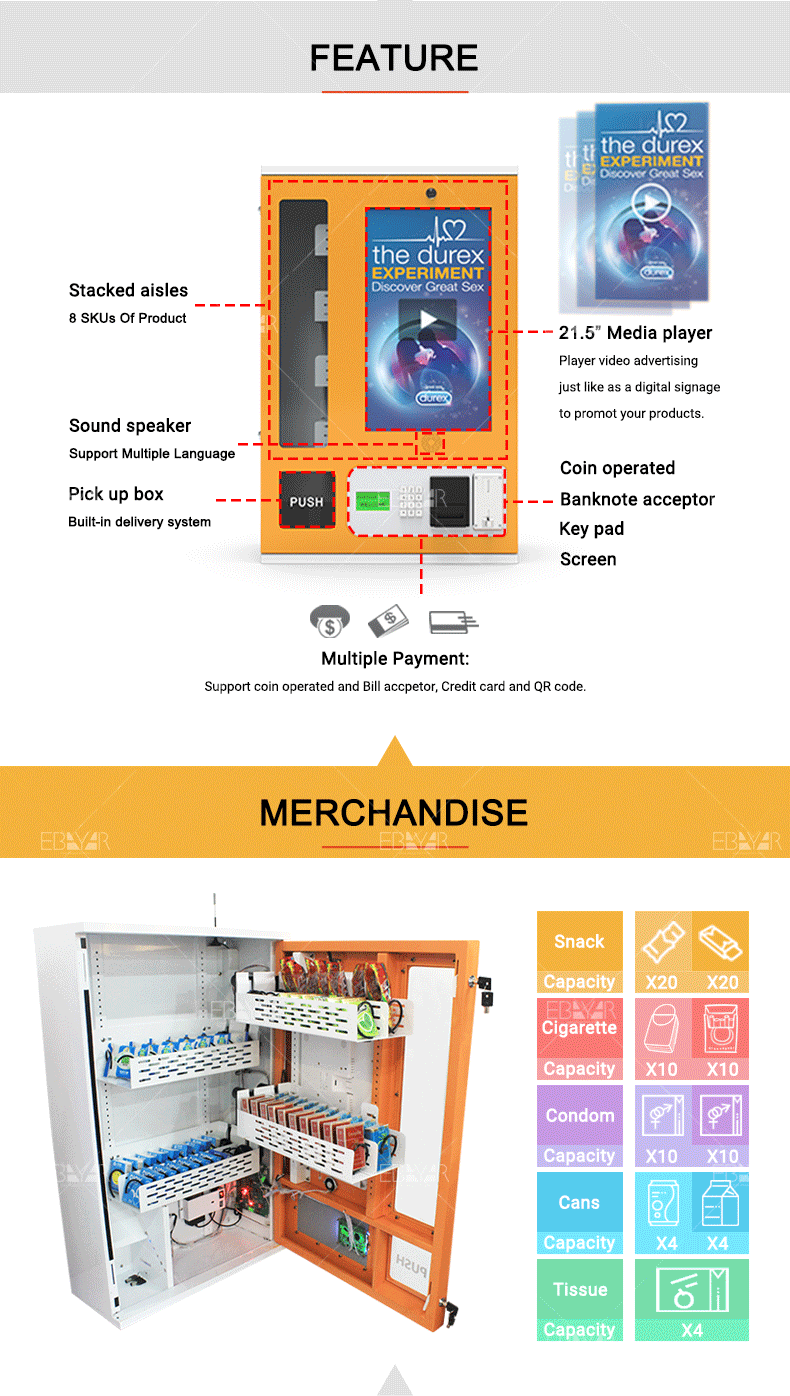 Small Vending Machine For Sale